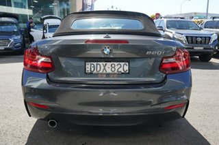 2015 BMW 220i F22 M Sport Mineral Grey 8 Speed Automatic Convertible