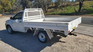 2015 Toyota Hilux KUN16R Workmate White Manual Cab Chassis