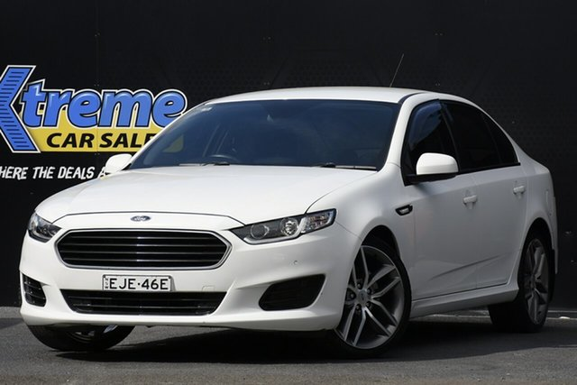 Used Ford Falcon FG X Campbelltown, 2016 Ford Falcon FG X White 6 Speed Sports Automatic Sedan
