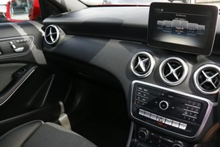 2016 Mercedes-Benz A-Class W176 807MY A180 D-CT Red 7 Speed Sports Automatic Dual Clutch Hatchback