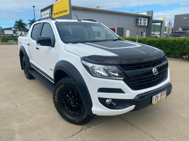 Used Holden Colorado RG MY20 Z71 Pickup Crew Cab Townsville, 2020 Holden Colorado RG MY20 Z71 Pickup Crew Cab White/180520 6 Speed Sports Automatic Utility