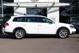 2012 Volkswagen Passat Type 3C MY13 Alltrack DSG 4MOTION White 6 Speed Sports Automatic Dual Clutch.