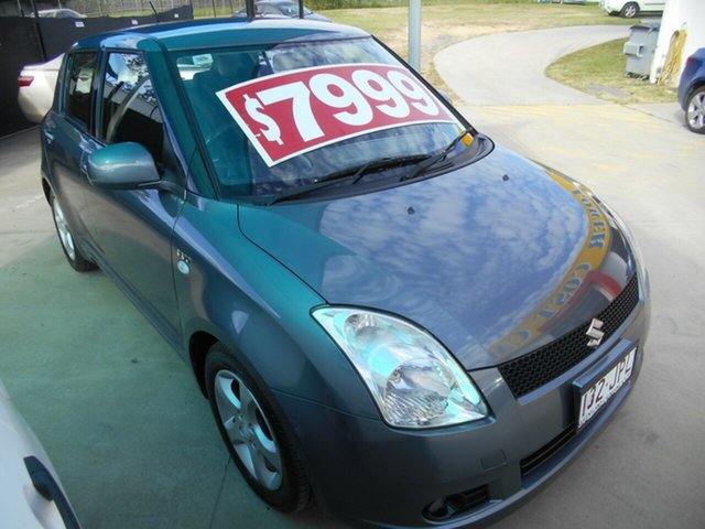 Used Suzuki Swift RS415 Z Series Springwood, 2006 Suzuki Swift RS415 Z Series Grey 5 Speed Manual Hatchback