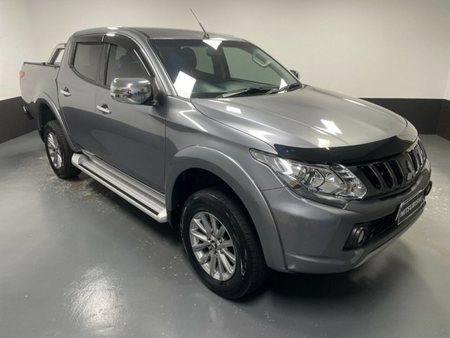 Used Mitsubishi Triton MQ MY18 GLS Double Cab Cardiff, 2018 Mitsubishi Triton MQ MY18 GLS Double Cab Grey 5 Speed Sports Automatic Utility