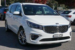 2019 Kia Carnival YP MY20 Platinum White 8 Speed Sports Automatic Wagon.