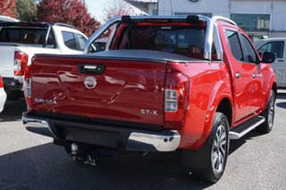 2017 Nissan Navara D23 S2 ST-X Red 7 Speed Sports Automatic Utility