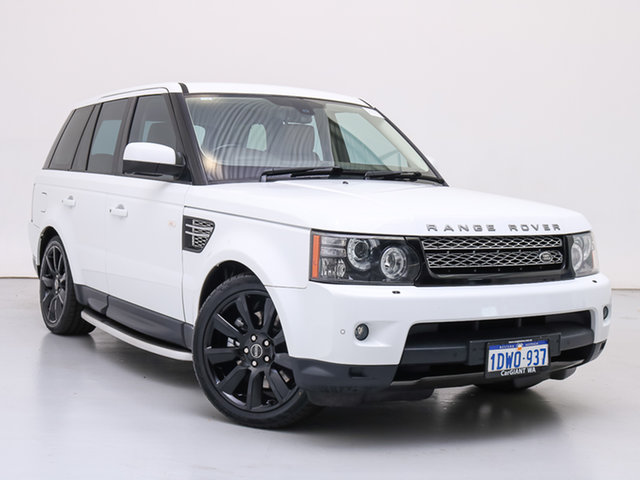 Used Land Rover Range Rover MY12 Sport 3.0 SDV6 Luxury, 2012 Land Rover Range Rover MY12 Sport 3.0 SDV6 Luxury White 6 Speed Automatic Wagon