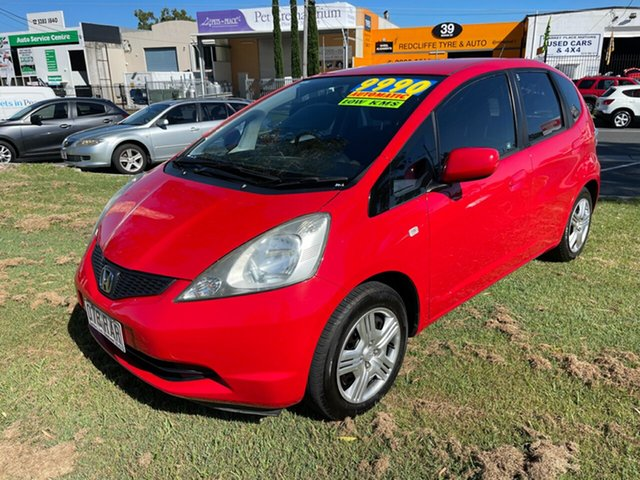 Used Honda Jazz GE MY10 GLi Clontarf, 2010 Honda Jazz GE MY10 GLi Red 5 Speed Automatic Hatchback