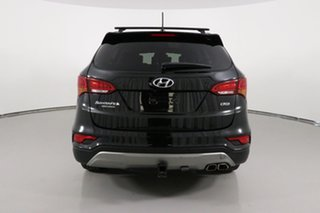 2016 Hyundai Santa Fe DM Series II (DM3)MY17 Highlander CRDi (4x4) Black 6 Speed Automatic Wagon
