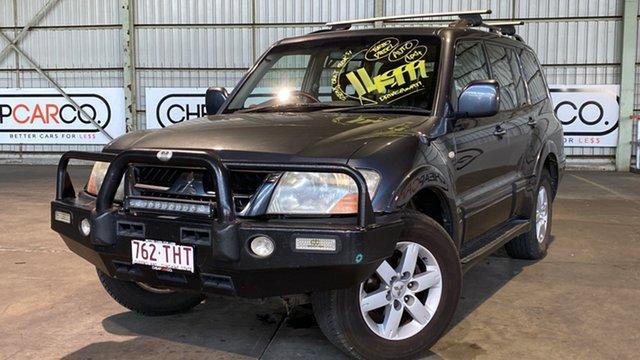 Used Mitsubishi Pajero NP MY05 Exceed Rocklea, 2005 Mitsubishi Pajero NP MY05 Exceed Blue 5 Speed Sports Automatic Wagon