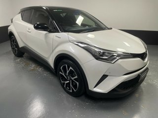2017 Toyota C-HR NGX10R Koba S-CVT 2WD White 7 Speed Constant Variable Wagon