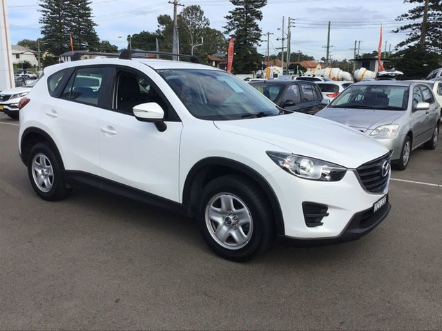 Pre-Owned Mazda CX-5 KE1032 Maxx SKYACTIV-Drive AWD Cardiff, 2015 Mazda CX-5 KE1032 Maxx SKYACTIV-Drive AWD White 6 Speed Sports Automatic Wagon
