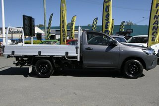 2018 Toyota Hilux TGN121R Workmate 4x2 Graphite 6 Speed Sports Automatic Cab Chassis