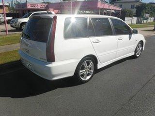 2005 Mitsubishi Lancer CH VRX White 4 Speed Automatic Wagon.