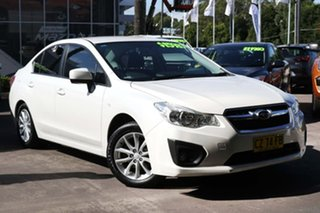 2012 Subaru Impreza G4 MY13 2.0i-L Lineartronic AWD White 6 Speed Constant Variable Sedan.