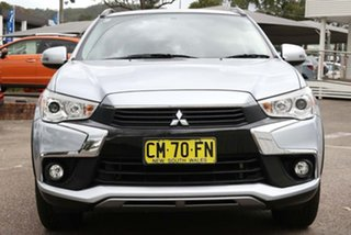 2017 Mitsubishi ASX XC MY17 LS 2WD Silver 6 Speed Constant Variable Wagon