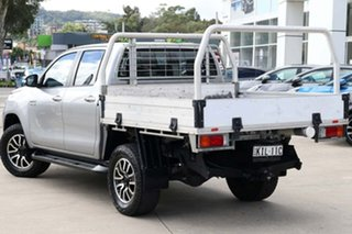 2017 Toyota Hilux GUN126R SR Extra Cab Silver 6 Speed Manual Cab Chassis.