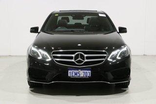 2014 Mercedes-Benz E250 212 MY14 CDI Black 7 Speed Automatic Sedan.