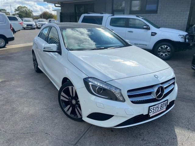 Used Mercedes-Benz A-Class W176 A200 DCT Hillcrest, 2014 Mercedes-Benz A-Class W176 A200 DCT White 7 Speed Sports Automatic Dual Clutch Hatchback