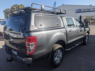 2014 Ford Ranger PX XLT Double Cab Metropolitan Grey 6 Speed Sports Automatic Utility
