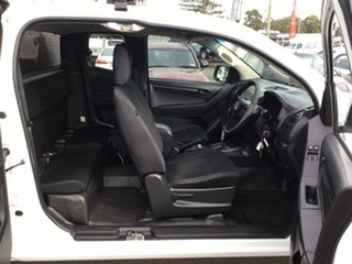 2014 Isuzu D-MAX MY15 SX Space Cab White 5 Speed Sports Automatic Cab Chassis
