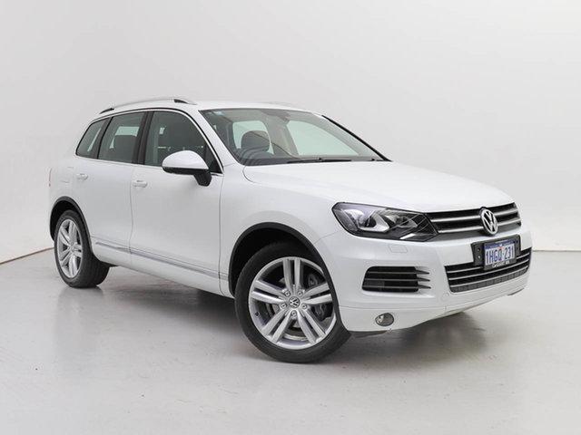Used Volkswagen Touareg 7P MY14 V6 TDI, 2014 Volkswagen Touareg 7P MY14 V6 TDI White 8 Speed Automatic Wagon
