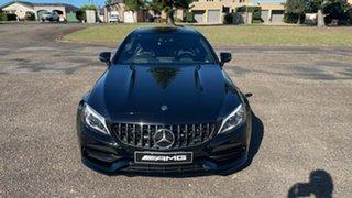 2021 Mercedes-Benz C-Class C205 801MY C63 AMG SPEEDSHIFT MCT S Obsidian Black Metallic 9 Speed.