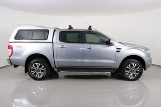 2016 Ford Ranger PX MkII XLT 3.2 (4x4) Silver 6 Speed Automatic Double Cab Pick Up