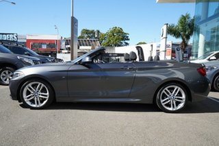 2015 BMW 220i F22 M Sport Mineral Grey 8 Speed Automatic Convertible.