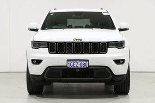 2017 Jeep Grand Cherokee WK MY16 75th Anniversary (4x4) White 8 Speed Automatic Wagon.