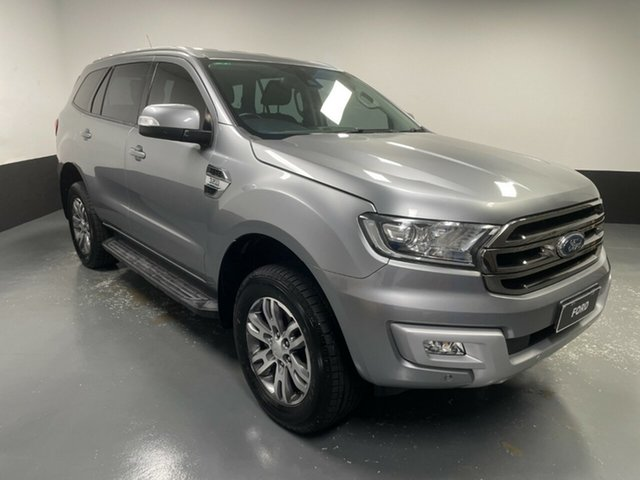 Used Ford Everest UA Trend Cardiff, 2016 Ford Everest UA Trend Silver 6 Speed Sports Automatic SUV