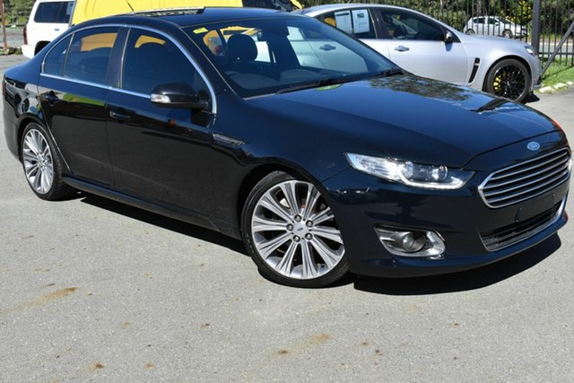 Used Ford Falcon FG X G6E Turbo Underwood, 2015 Ford Falcon FG X G6E Turbo Black 6 Speed Automatic Sedan