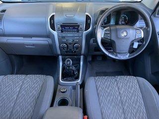 2012 Holden Colorado RG MY13 LX Crew Cab Silver 5 Speed Manual Utility