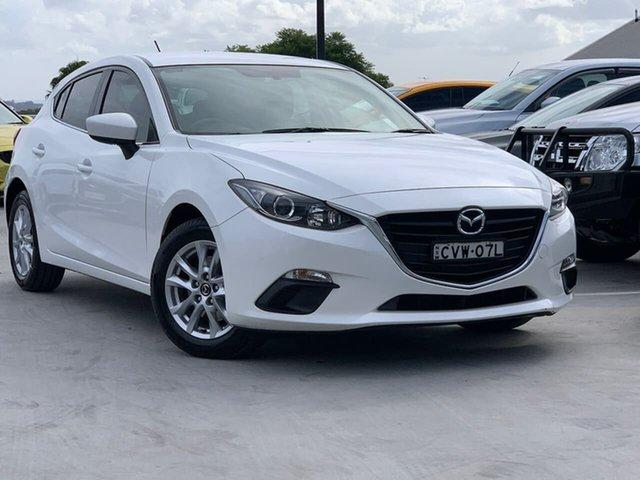 Used Mazda 3 BM5478 Maxx SKYACTIV-Drive Liverpool, 2014 Mazda 3 BM5478 Maxx SKYACTIV-Drive White 6 Speed Sports Automatic Hatchback