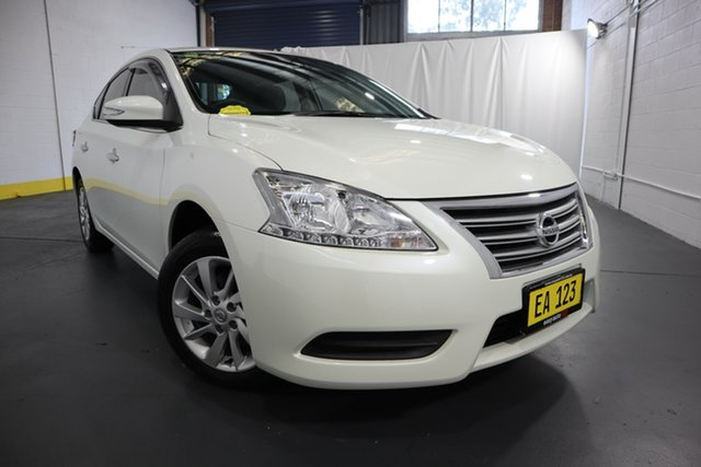 Used Nissan Pulsar B17 Series 2 ST Castle Hill, 2016 Nissan Pulsar B17 Series 2 ST White 1 Speed Constant Variable Sedan