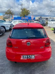 2016 Volkswagen Polo 6R MY16 81TSI DSG Comfortline Red 7 Speed Sports Automatic Dual Clutch