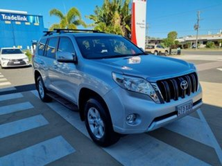 2016 Toyota Landcruiser Prado GDJ150R GXL Silver Pearl 6 Speed Sports Automatic Wagon.