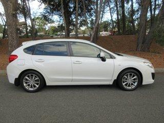 2015 Subaru Impreza G4 MY15 2.0i AWD Premium White 6 Speed Manual Hatchback.