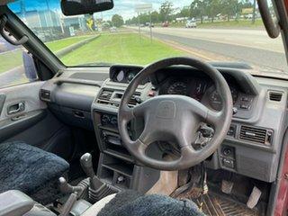 1999 Mitsubishi Pajero NL GLS Red 5 Speed Manual Wagon