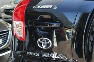 2007 Toyota RAV4 ACA33R Cruiser Black 4 Speed Automatic Wagon