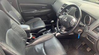 2012 Mitsubishi ASX XA MY12 2WD Black 5 Speed Manual Wagon