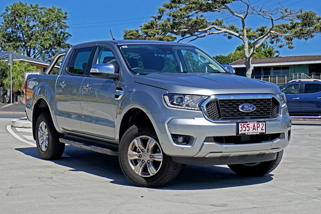 Used Ford Ranger PX MkIII 2021.25MY XLT Capalaba, 2020 Ford Ranger PX MkIII 2021.25MY XLT Silver 6 Speed Sports Automatic Double Cab Pick Up