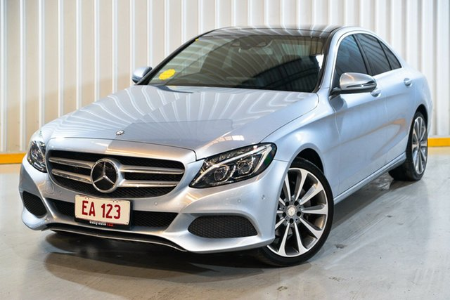 Used Mercedes-Benz C-Class W205 807MY C250 7G-Tronic + Hendra, 2016 Mercedes-Benz C-Class W205 807MY C250 7G-Tronic + Silver 7 Speed Sports Automatic Sedan