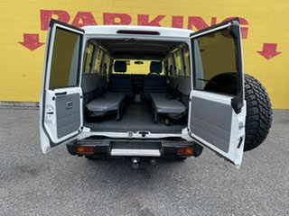 2015 Toyota Landcruiser VDJ78R Workmate Troopcarrier White 5 Speed Manual Wagon