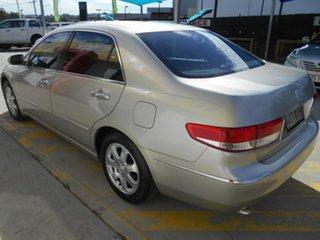 2005 Honda Accord 7th Gen V6 Luxury Gold 5 Speed Automatic Sedan