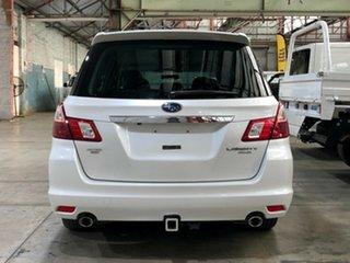 2012 Subaru Liberty B5 MY12 Exiga Lineartronic AWD Premium White 6 Speed Constant Variable Wagon