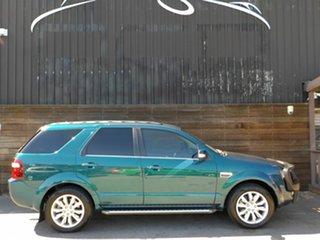 2010 Ford Territory SY MkII Ghia AWD Green 6 Speed Sports Automatic Wagon.