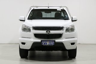 2015 Holden Colorado RG MY16 LS (4x2) White 6 Speed Manual Cab Chassis.
