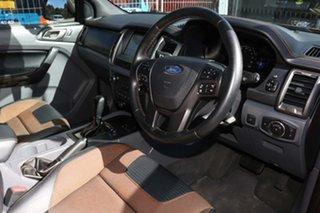 2017 Ford Ranger PX MkII 2018.00MY Wildtrak Double Cab Orange 6 Speed Sports Automatic Utility