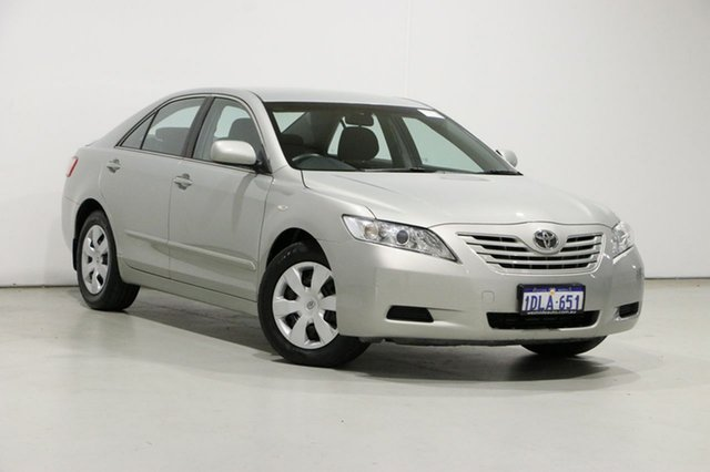 Used Toyota Camry ACV40R 09 Upgrade Altise Bentley, 2009 Toyota Camry ACV40R 09 Upgrade Altise Silver 5 Speed Automatic Sedan